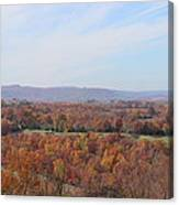 Colors Across The Valley. Canvas Print