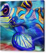 Colors Below Canvas Print