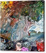 Colors Of Artist's Palette Canvas Print