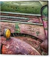 Colors Of Corrosion Canvas Print