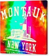 Colors Of Montauk Canvas Print