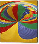 Colors Of Motion Canvas Print