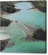 Colors Of Tutukaka Canvas Print