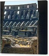 Colosseum Arch Canvas Print