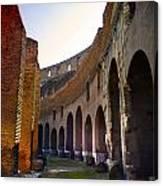Colosseum Interior Canvas Print