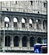 Colosseum Two Canvas Print