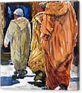 Colour Coordinated Canvas Print