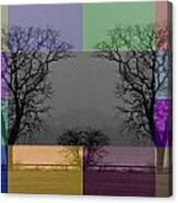 Colour Tile Canvas Print