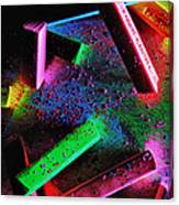 Coloured Chalks  Canvas Print
