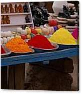 Coloured Powder Canvas Print