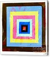 Coloured Squares Number 1 Canvas Print