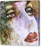 Coloured Woman Canvas Print