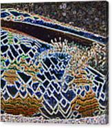 Colourful Crab Canvas Print