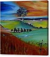 Colourful Landscape Canvas Print