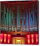 Colourful Organ Canvas Print