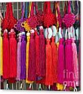 Colourful Souvenirs In China Canvas Print