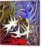 Colours Melting 3 Canvas Print