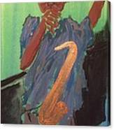 Coltrane Canvas Print