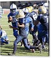 Colts Vs Bruins 7140 Canvas Print