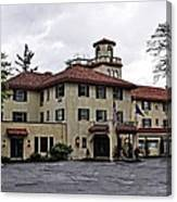 Columbia Gorge Hotel Canvas Print