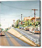 Columbia Street Middletown Canvas Print