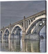Columbia-wrightsville Bridge Canvas Print