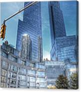 New York - Columbus Circle - Time Warner Center Canvas Print