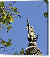 Columbus Monument - Barcelona Canvas Print