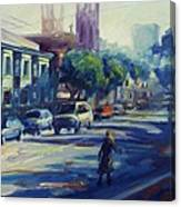 Columbus Street Canvas Print
