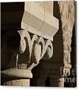 Column Detail Stanford California Canvas Print