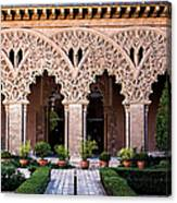 Columns And Arches No4 Canvas Print