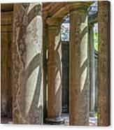 Columns At Cranes Canvas Print