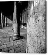Columns At The Church Of Nativity Canvas Print