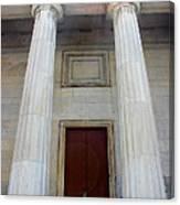 Columns Of Second Bank In Philadelphia Canvas Print