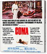 Coma, Left Genevieve Bujold On Poster Canvas Print