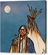Comanche Moon Canvas Print