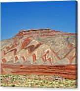 Comb Ridge Utah Near Mexican Hat Canvas Print