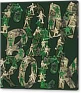 Combat Rock Canvas Print