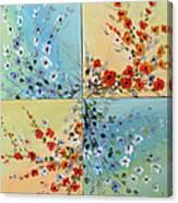 Combo Flowers Canvas Print