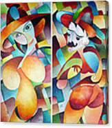 Man And Woman Canvas Print