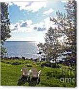 Come Sit With Me Canvas Print