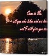 Come To Me Canvas Print