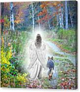 Come Walk With Me Canvas Print
