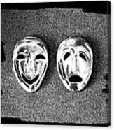 Comedy And Tragedy Masks 7 Canvas Print