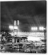 Comerica Park At Night Canvas Print