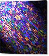 Comet Of Colour Canvas Print