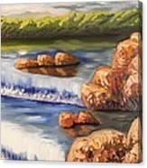 Comfort Waterfall Canvas Print