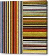 Comfortable Stripes Lx Canvas Print