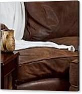 Comfy Sofa Canvas Print