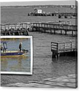 Coming In To Dock Canvas Print